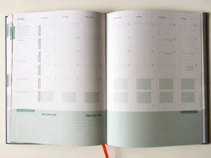 Purpuz planner - maandoverzicht