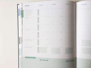Purpuz planner maandoverzicht