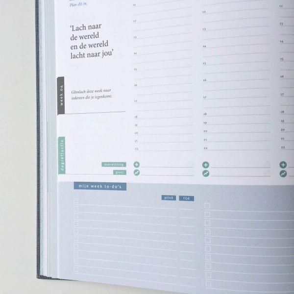 Purpuz planner - week close
