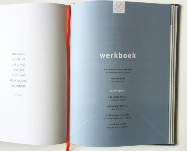 Purpuz planner - werkboek