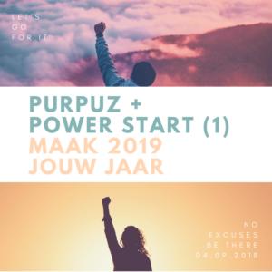 PURPUZ - POWER START 1