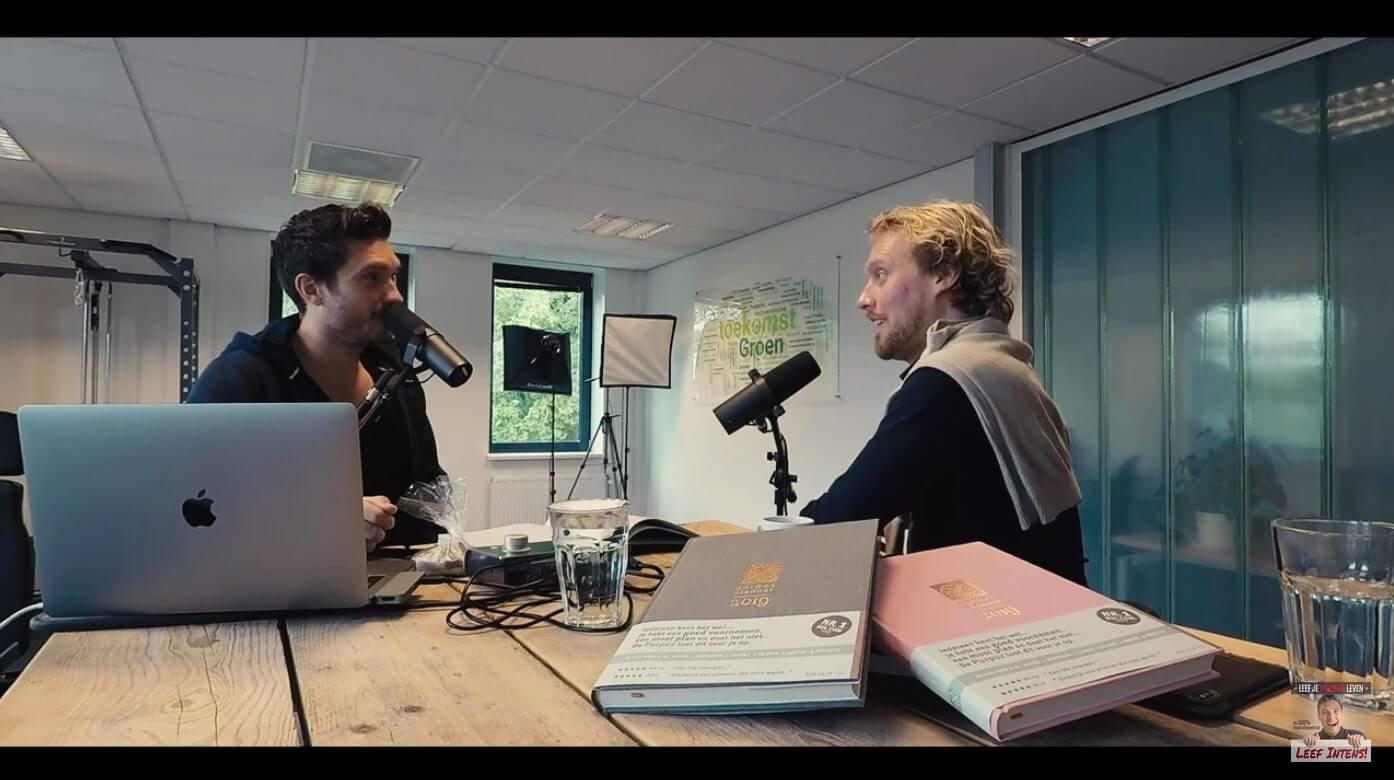 Clen Verkeij in gesprek met Thhijs Lindhout