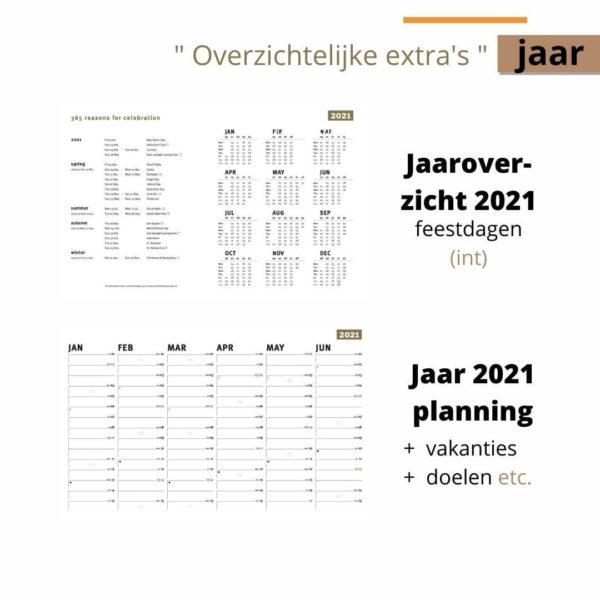 Family Planner 2021 - jaaroverzicht 2021
