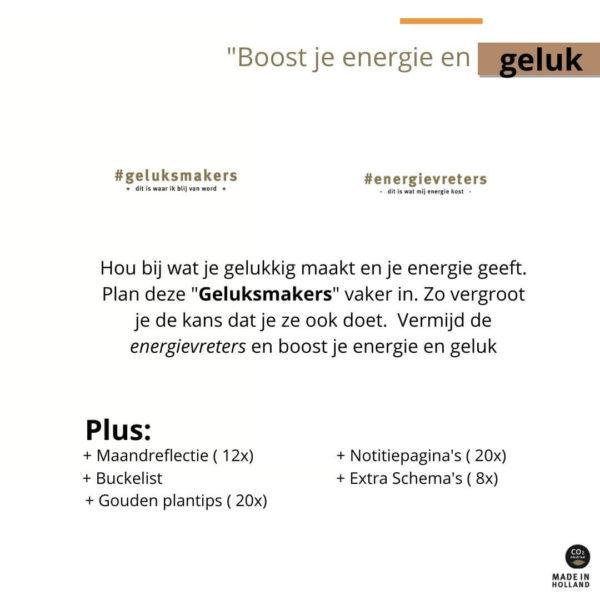 Purpuz Planner 2021 - Boost je energie