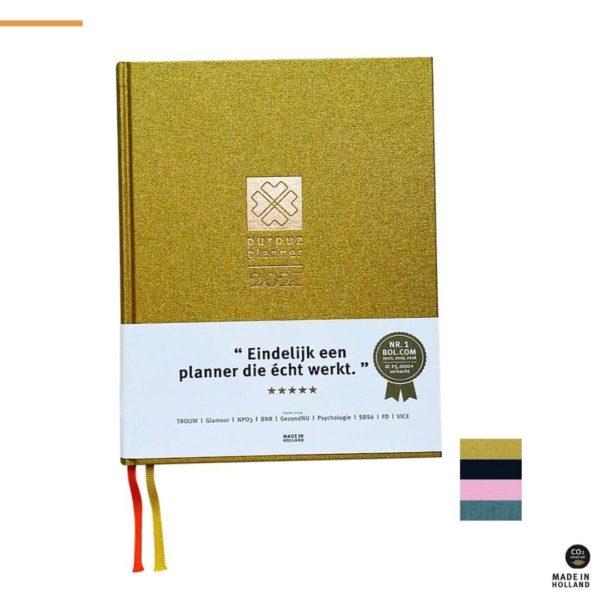 Purpuz Planner 2021 - Gouden Planner