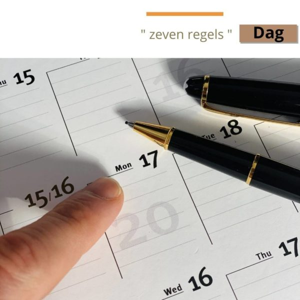Jaarplanner details