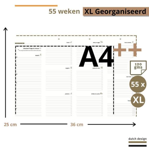 Meal Planner - Purpuz Maaltijdplanner XL - 2