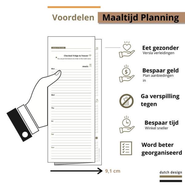 Voordelen Maatlijdplanning - Purpuz Meal Planner - Maaltijdplanner 3