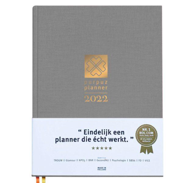 Planner 2022 - grijs -