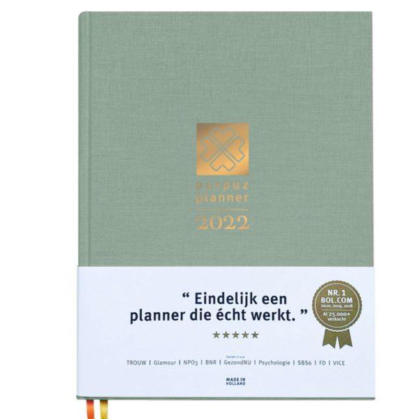 Planner 2022 - groen