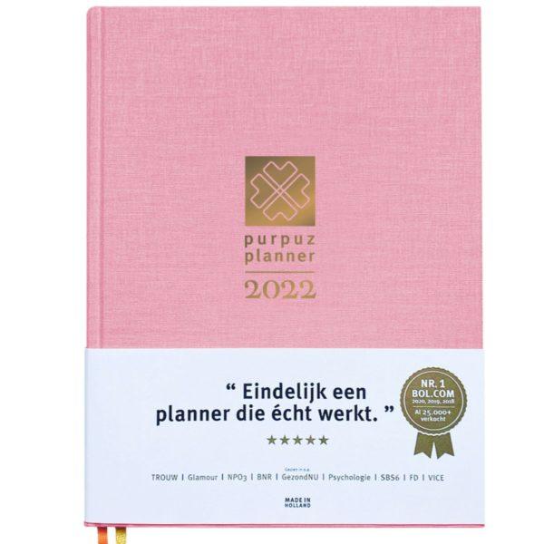 Planner 2022 - roze