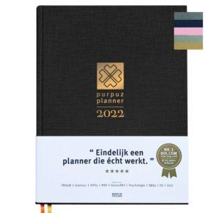 Planner 2022 - zwart
