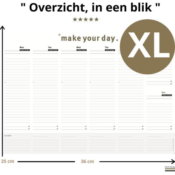 Deskplanner - Desk planner Xl (1)