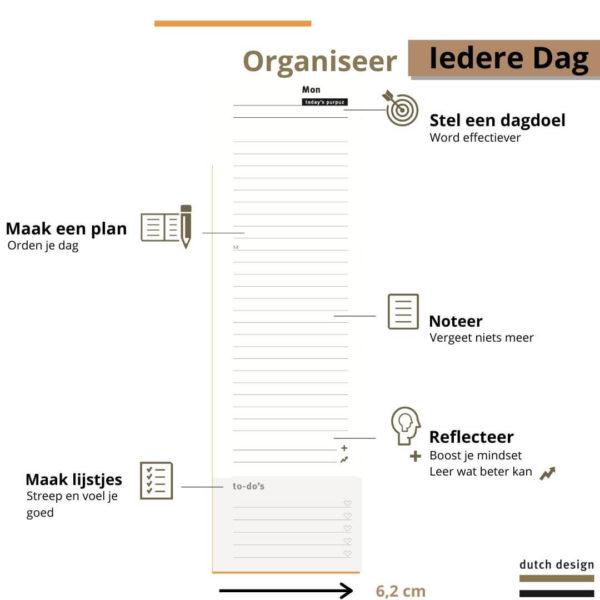 Deskplanner - Desk planner dagindeling - 3