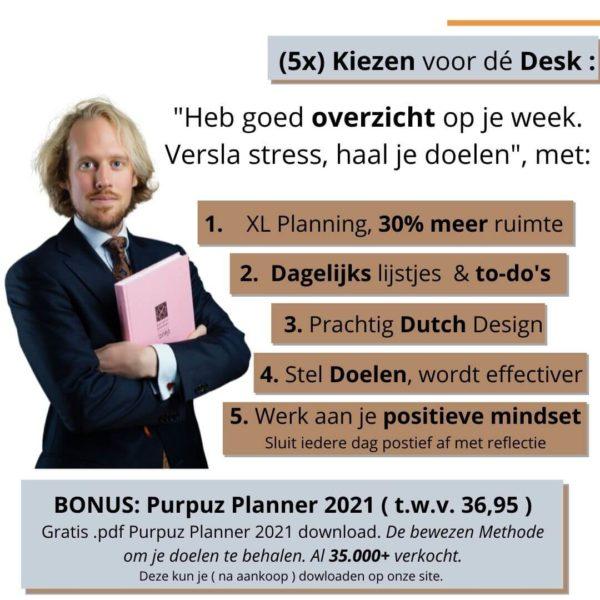 Deskplanner - Desk planner voordelen Desk (5)